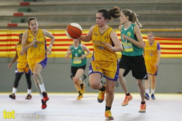 Bàsquet fem. Pasarela Mataró - Jov. Les Corts