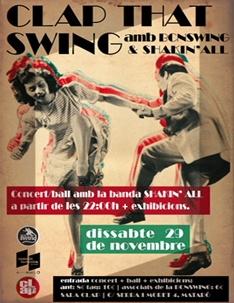 Clap That Swing amb BcnSwing & Shakin'all